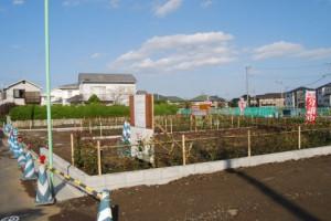 工事中の土地