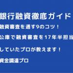 銀行融資, 銀行ローン審査