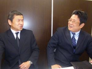 小川博史氏と菊池氏