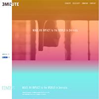 3Minute-inc.ホームページ