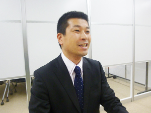久保輝雄氏の写真