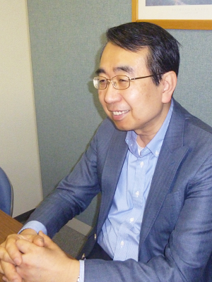 梅川貢一郎氏の写真