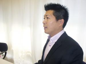 井出龍治氏の写真