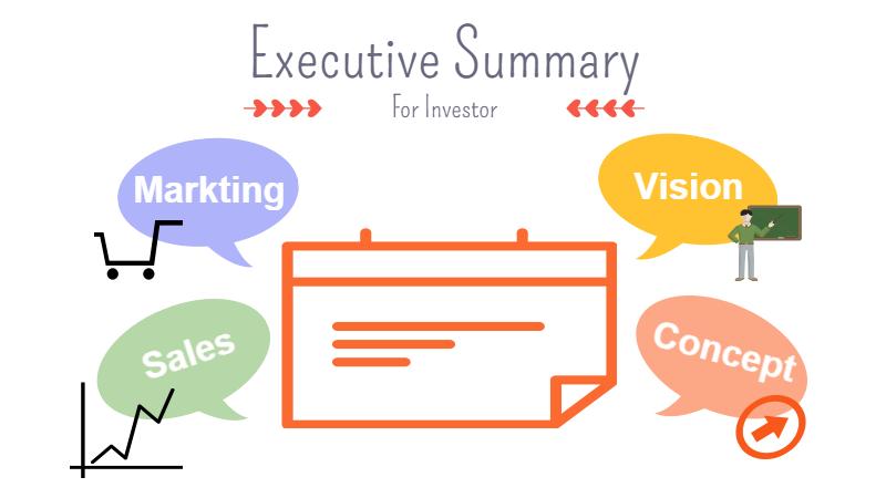 投資家 募集 executive summary