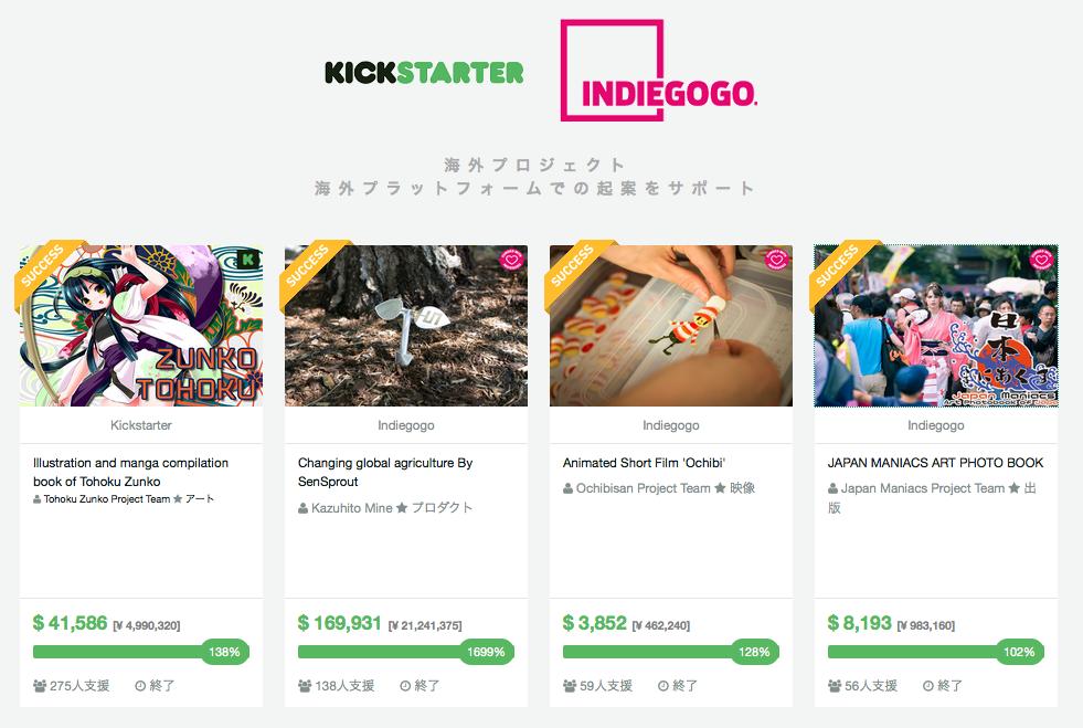 GREEN FUNDING公式サイト「海外プロジェクト・海外プラットフォームでの起案をサポート 」より
