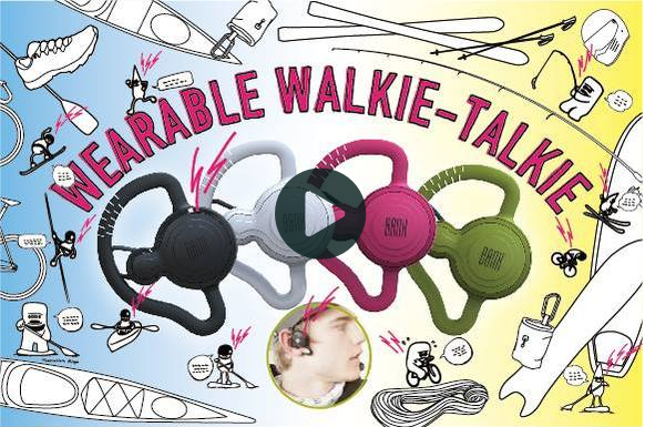 WEARABLE WALKIE-TALKIE