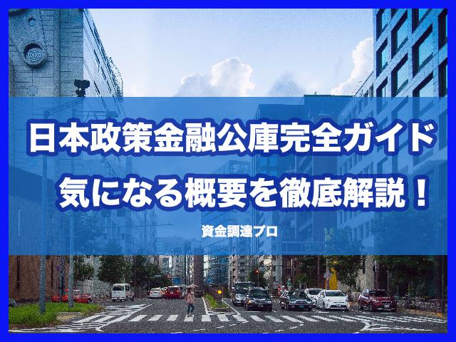 日本政策金融公庫完全ガイド気になる概要を徹底解説