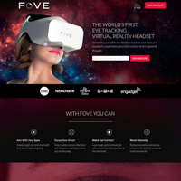 19FOVE  The World's First Eye Tracking virtual reality headset
