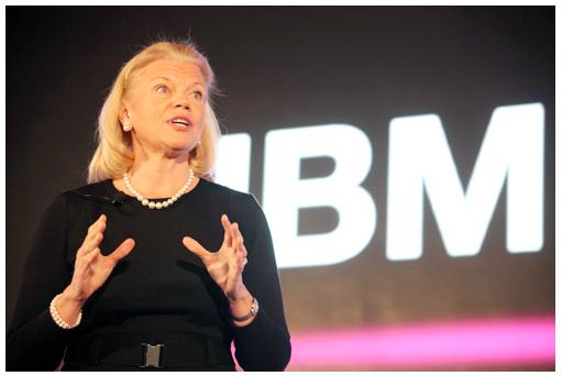 IBM女性CEOによるプレゼン
