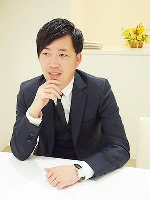 代表取締役社長椿本氏1