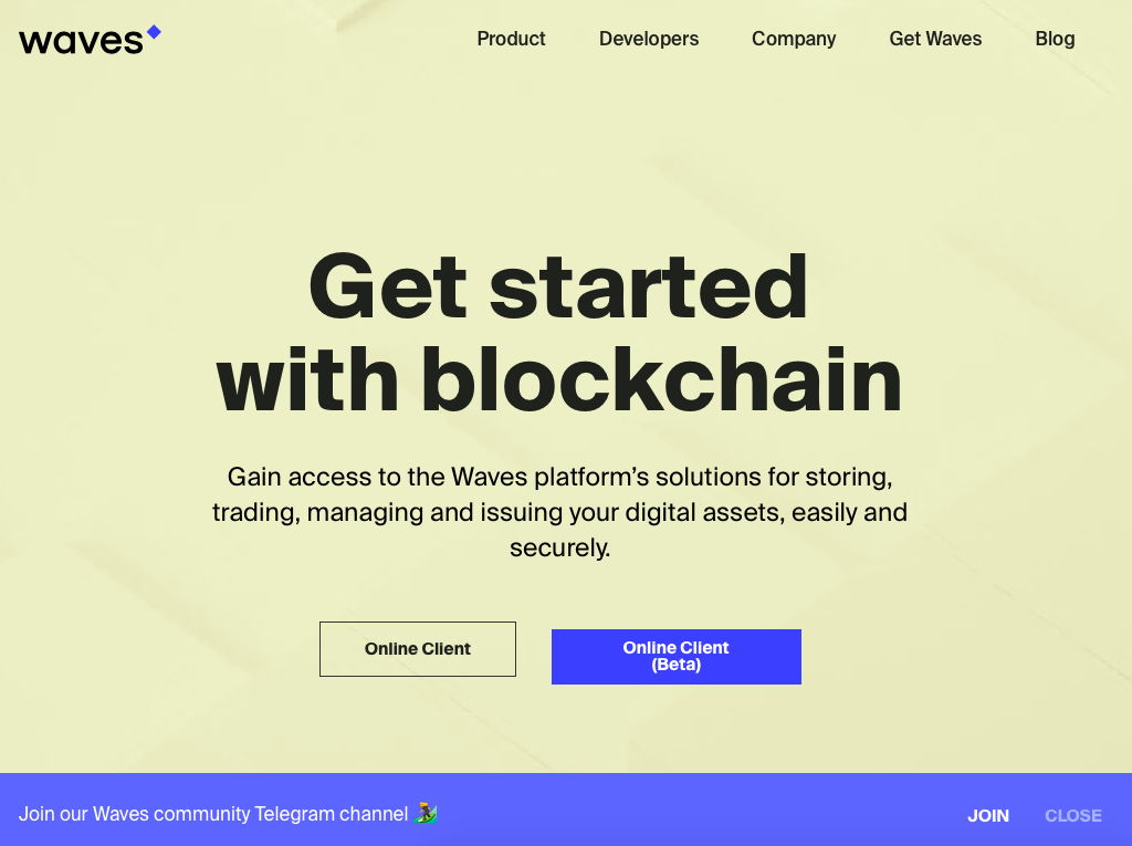 Get started with blockchain