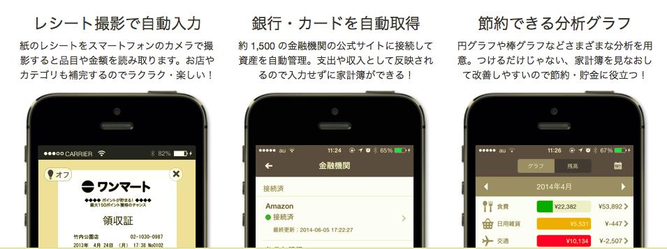 家計簿アプリZaim