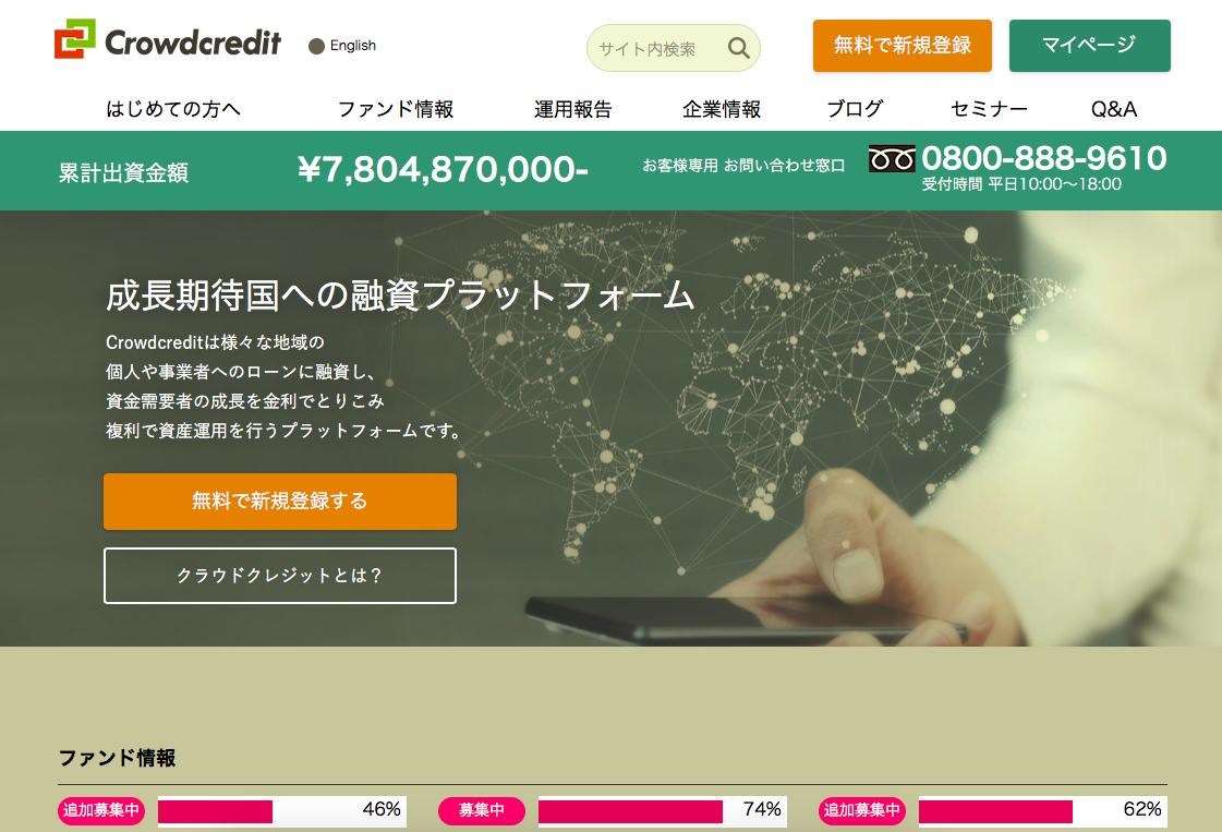 CrowdCredit(クラウドクレジット)
