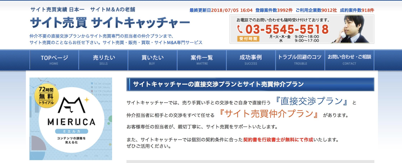 株式会社Faber Company(サイトキャッチャー)