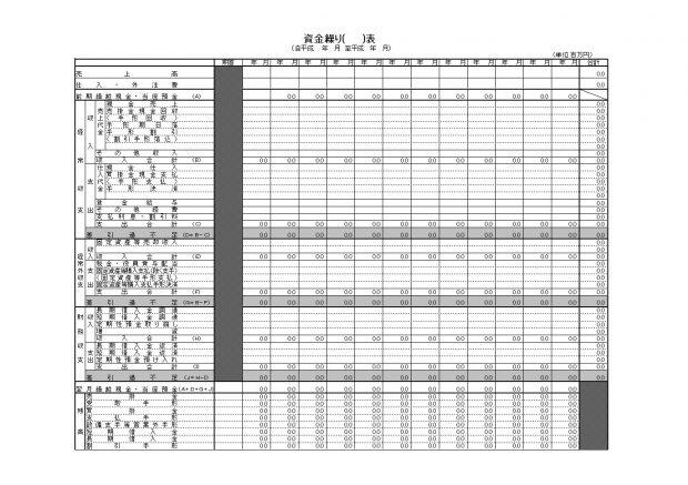 日本政策金融公庫 各種書式ダウンロードページ