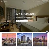 Anyplaceのトップページ