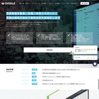 DIGGLE株式会社のトップページ