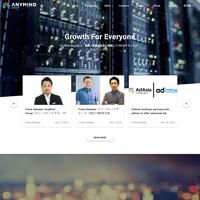 AnyMind Groupのトップページ