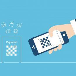 Paymentのバーコードとかざす携帯