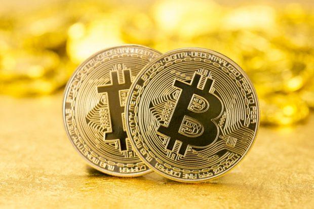 ビットコインの硬貨イメージ