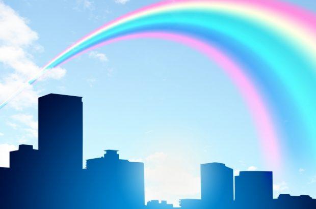 虹色に輝くMBO後の会社