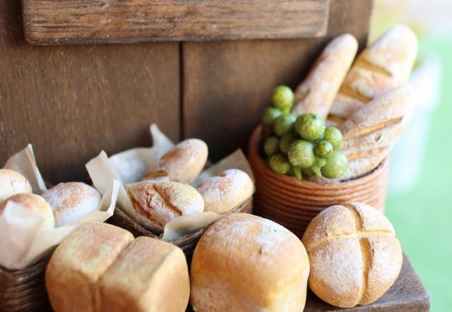 パンのミニチュアフード
