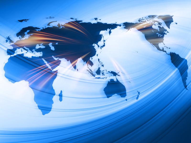 日本から海外展開を行うグローバルのイメージ