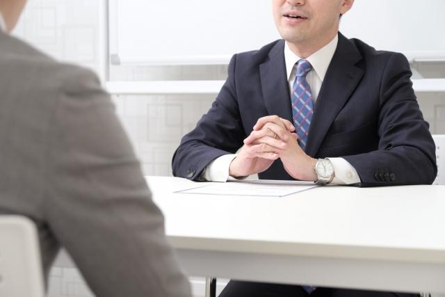 正社員になるために面接を受けるフリーランス