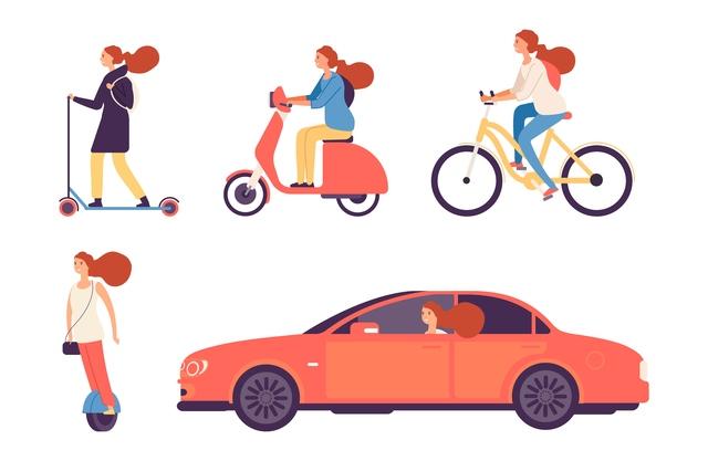 車、バイク、自転車を売る