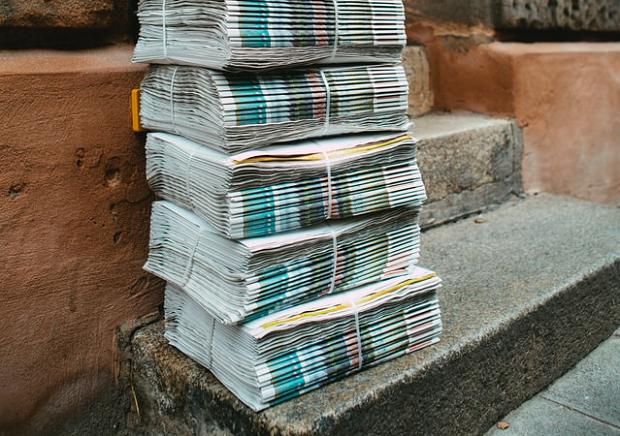 新聞配達の仕事