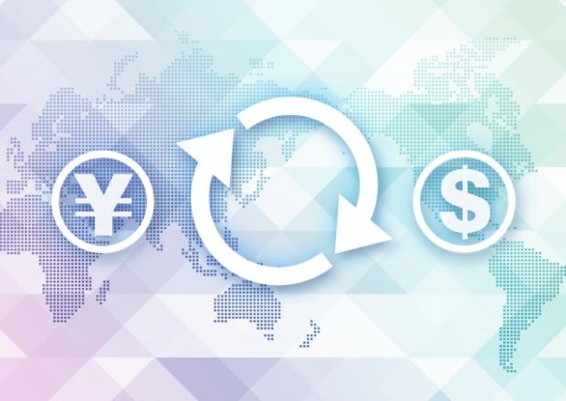 円と米ドルの取引