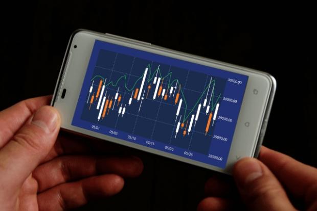 ネット証券のアプリで株価チェック